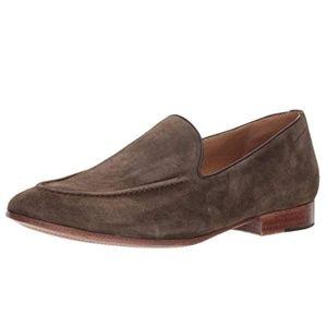 Donald Pliner Men's Brown Washed Suede Loafer